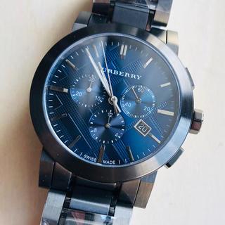 BURBERRY - ◆海外限定◆新品◆BURBERRY BU9365◆クォーツ グレー メンズ腕時計