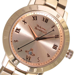 Vivienne Westwood - ヴィヴィアン ウエストウッド クオーツ レディース腕時計Vローズ ローズゴールド