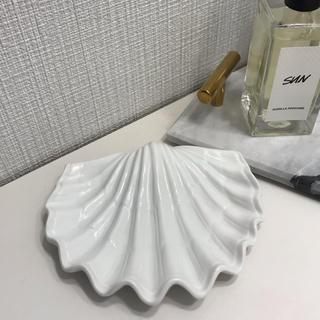ZARA HOME - ソープディッシュ 石鹸ケース 小物入れ 石鹸置き シェル 貝殻 海外インテリア