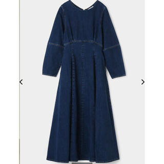マウジー(moussy)のmoussy COCOON SLEEVE FLARE ドレス(ロングワンピース/マキシワンピース)