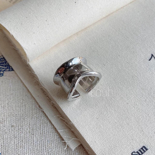 Philippe Audibert - j326.S925 edge wide ring