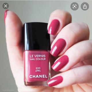 CHANEL - CHANEL ヴェルニ ロング トゥニュ ネイル エナメル 533