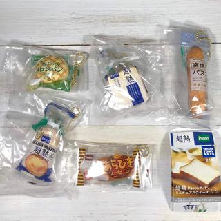 タカラトミーアーツ(T-ARTS)の超熟 Pascoのパン ミニチュア スクイーズ 全5種 食品サンプル パスコ (その他)