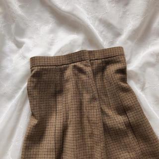 ロキエ(Lochie)のチェックスカート(ひざ丈スカート)