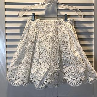 Alice+Olivia - alice + olivia white スカート