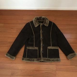 LIMHT-HEARTED ジャケット L ブラウン(ノーカラージャケット)