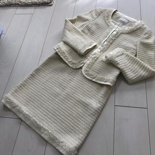 エムプルミエ(M-premier)のエムプルミエ  セット フォール スーツ ツイード(スーツ)