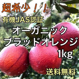 超希少 オーガニックブラッドオレンジ 大崎上島 国産 数量限定 ノーワックス(フルーツ)