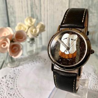 ピエールラニエ(Pierre Lannier)の【希少】Pierre Lannier ピエールラニエ 腕時計 犬 シルバー(腕時計)