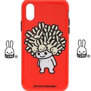 キューン(CUNE)の新品未使用 キューン 25周年記念 コラボ iPhone ケース カバー(その他)