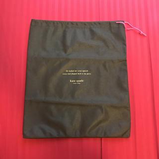 ケイトスペードニューヨーク(kate spade new york)の【未使用】ケイトスペード シューズ袋 巾着 保存袋(ショップ袋)
