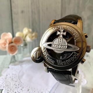 Vivienne Westwood - 【電池交換済み】 ヴィヴィアン 腕時計 CAGE シルバー MAN