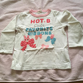 ホットビスケッツ(HOT BISCUITS)の女児ミキハウス ロンT 中古品(Tシャツ/カットソー)