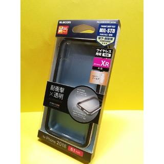 ELECOM - iPhoneXR ケース 耐衝撃 TRANTECT アルミバンパー