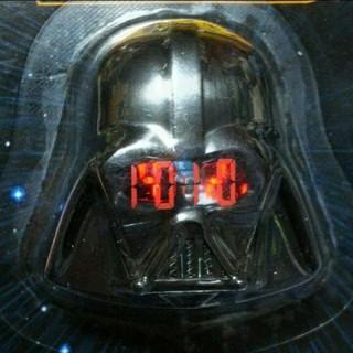 ディズニー(Disney)のスラップウォッチ「スターウォーズ」ダースベイダー(腕時計(デジタル))