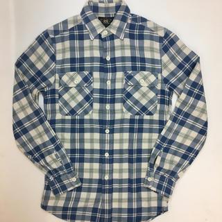 ダブルアールエル(RRL)のサイズXS RRL チェック シャツ コットン ネルシャツ(シャツ)