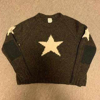 サンシー(SUNSEA)のSUNSEA 15AW 一番星セーター サイズ1(ニット/セーター)