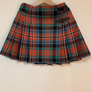 Bonpoint - ボンポワン チェック スカート 10
