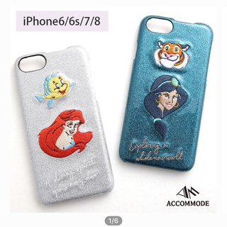 Disney - アリエルiPhoneケース