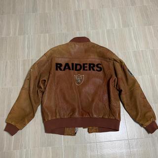 NEW ERA - レザージャケット raiders