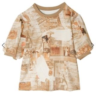eimy istoire - エイミーパリアートTシャツ