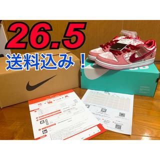 ★値下げ★ ストレンジラブ ナイキ SB ダンク low  バレンタイン(スニーカー)