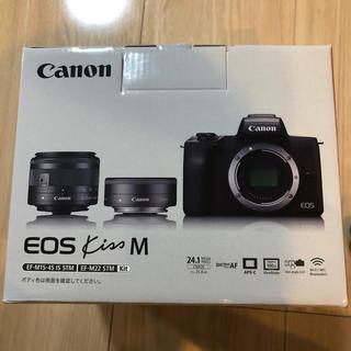 Canon - CanonミラーレスカメラEOS Kiss Mダブルレンズキット