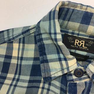 RRL - 定価28,000円 サイズS RRL インディゴ チェック シャツ