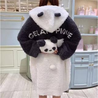 gelato pique - 新品完売 ジェラートピケ HALLOWEEN限定 パンダ モコ BIGパーカ