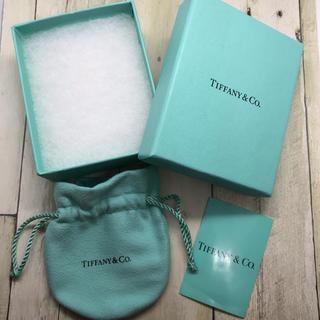 Tiffany & Co. - ティファニー  美品  アクセサリー ケース 箱  巾着