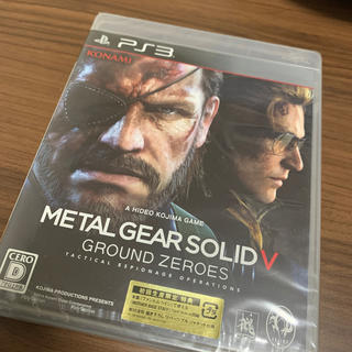 プレイステーション3(PlayStation3)のメタルギア ソリッド V グラウンド・ゼロズ PS3(家庭用ゲームソフト)