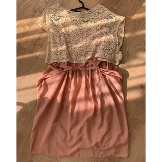ティアラ(tiara)の美品 Tiara ドレス ワンピース 3点セット (ミディアムドレス)