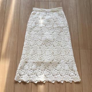 IENA - IENA 新品同様レーススカート
