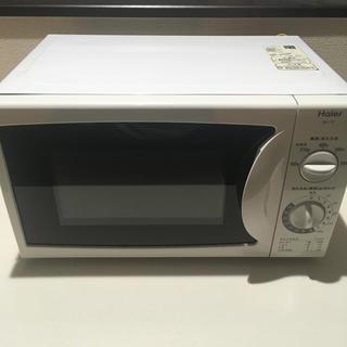 Haier - ハイアール デンシレンジ 2012年製 本体 電子レンジ 60Hz対応 中古品