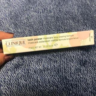 CLINIQUE - CLINIQUE lash power マスカラ