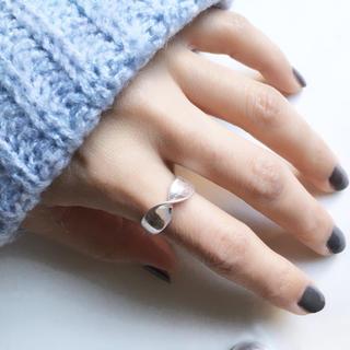 トゥデイフル(TODAYFUL)のラスト1点 sale【アンティークシルバー】セミワイド ツイストリング12号(リング(指輪))