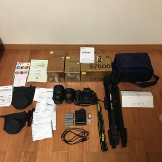 Nikon - Nikon D7500 三脚 レンズ2つ ポーチセット
