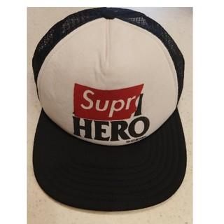 Supreme - Supreme ANTI HERO キャップ メッシュ スナップバック
