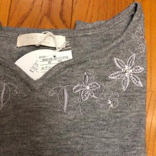 PROPORTION BODY DRESSING - 新品 PATTERN fiona ハートネック刺繍 アンジェリーナプルオーバー
