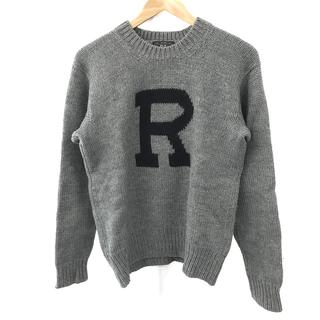 RRL - ダブルアールエル ラルフローレン メンズ ウールニット L グレー セーター