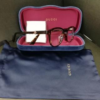 Gucci - グッチ 眼鏡フレーム☆GG0556OJ 002 正規店より購入
