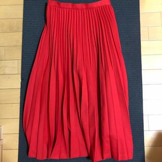 スタディオクリップ(STUDIO CLIP)のプリーツスカート(ロングスカート)