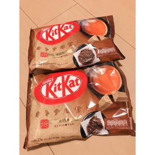 ネスレ(Nestle)のキットカット オトナの甘さ ほうじ茶味 2袋(菓子/デザート)