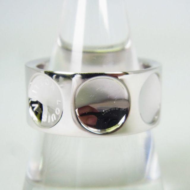 LOUIS VUITTON(ルイヴィトン)のルイ・ヴィトン プティットバーグ アンプラントWG リング [g161-3] レディースのアクセサリー(リング(指輪))の商品写真