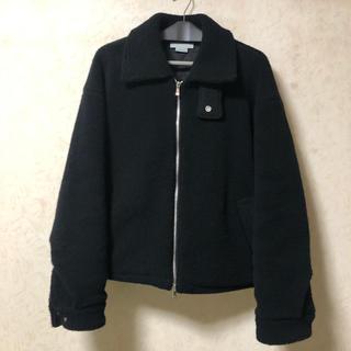 COMOLI - YOKE ヨーク 19AW ボアブルゾン サイズ:S カラー:ブラック