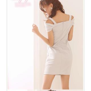 Andy - Ryuyu オフショルリボンドレス