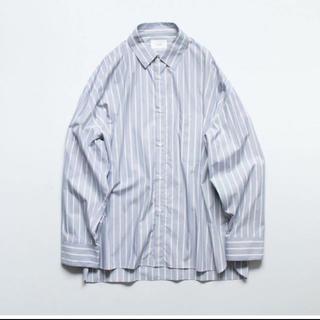 SUNSEA - stein 20ss over sized down pad shirt