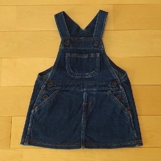 ムジルシリョウヒン(MUJI (無印良品))のベビー ジャンパースカート 80(スカート)