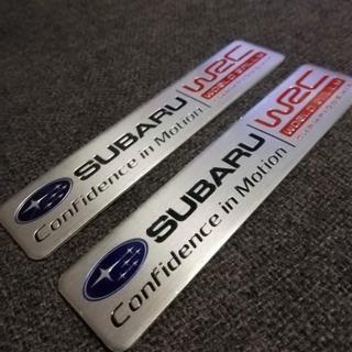 SUBARU スバル WRC エンブレム ステッカー 2個セット