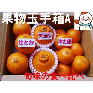 旬味❗果物玉手箱A♥せとか&デコ&のぞみ♥雪だるま直送(フルーツ)